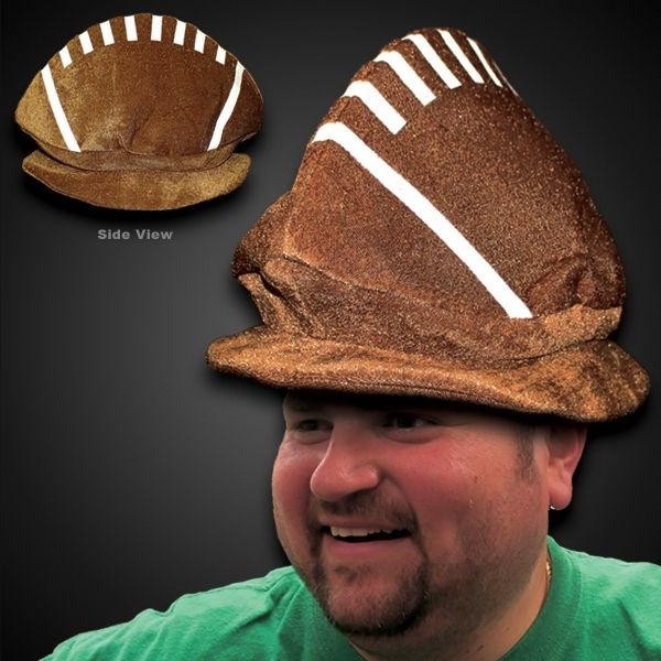 Main Product Image for Costume Hat Football Plush Hat