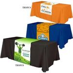 Buy Trade Show Table Runner All Over Dye Sub - (Front, Top, Back)