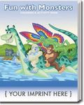 Fun with Monsters Coloring Book -