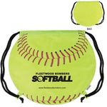 Buy Custom Imprinted Drawstring Backpack GameTime! (R) Softball
