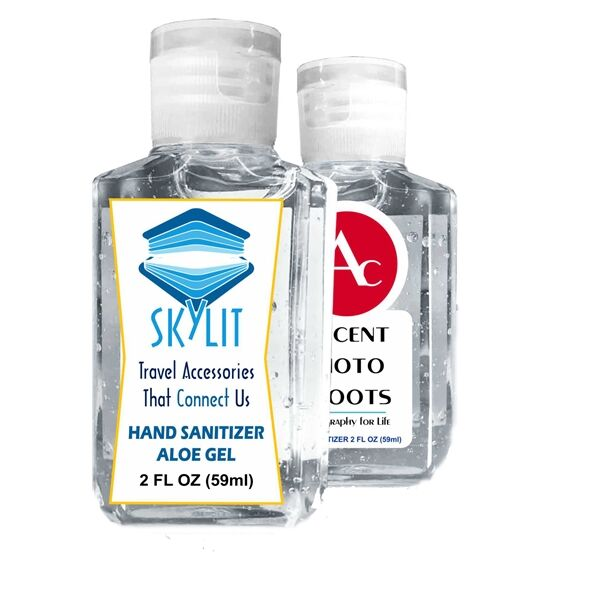 Main Product Image for Gel Hand Sanitizer GEL 2 oz with Logo