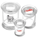 Buy Custom Imprinted Glass Stash Jar 8 oz)