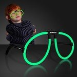Buy Custom Glasses Neon Green Glow