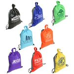 Buy Custom Imprinted Drawstring Backpack Glide Right