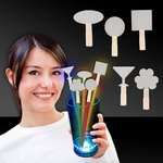 Buy Glow Light Up Swizzle Stick Toppers