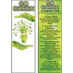 Buy Go Green Bookmark