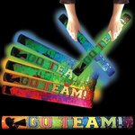 Go Team Light Up LED Glow Foam Lumiton - Multi Color LED