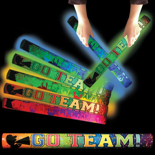 Main Product Image for Go Team Light Up LED Glow Foam Lumiton