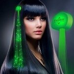 Buy Custom Hair Clip Light Up Sparkle Extensions