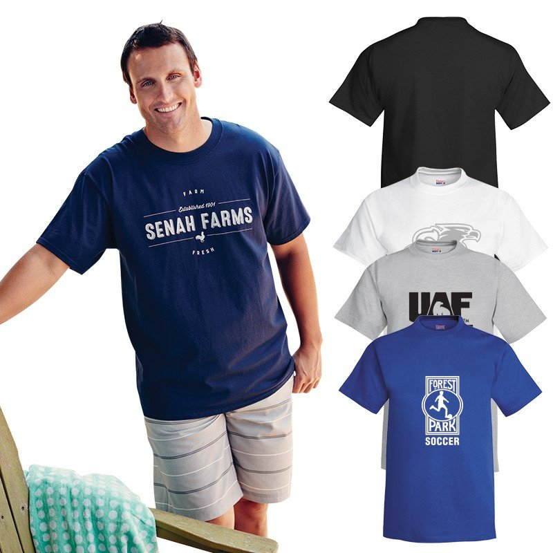 Main Product Image for Hanes Beefy-T(R)  Adult Short-Sleeve T-Shirt - 6.1 oz.