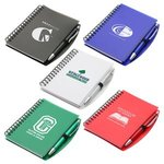 Buy Custom Imprinted Pen - Hardcover Notebook And Pen Set