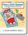 Buy Have a Safe Summer Coloring and Activity Book