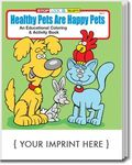 Buy Healthy Pets are Happy Pets Coloring and Activity Book