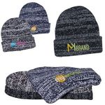 Buy Heathered/Marbled Knit Beanie with Cuff