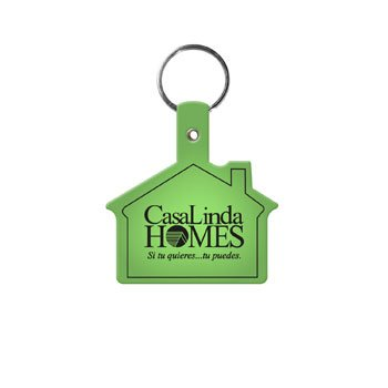 Main Product Image for Custom Imprinted Key Tag House Shaped