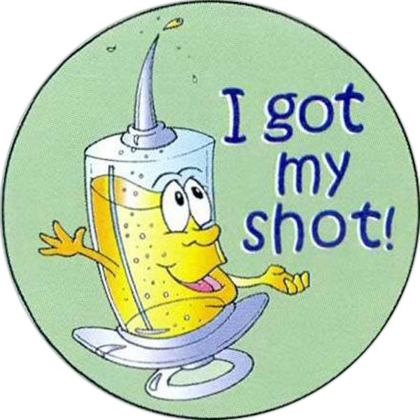 Main Product Image for I Got My Shot Sticker Rolls