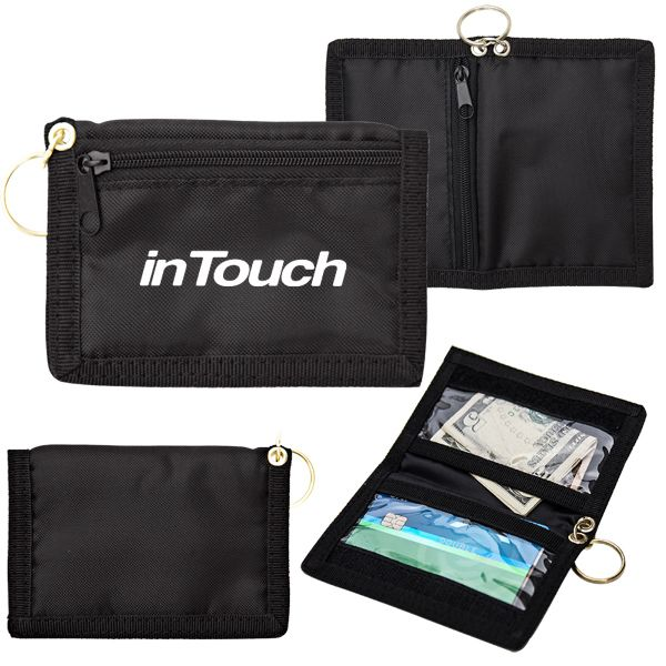 Main Product Image for Custom Imprinted Wallet w/ Key Ring