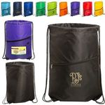 Buy Incline Drawstring Backpack with Zipper