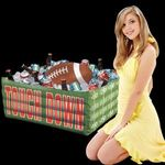 Buy Custom Imprinted Inflatable Football Fan Cooler