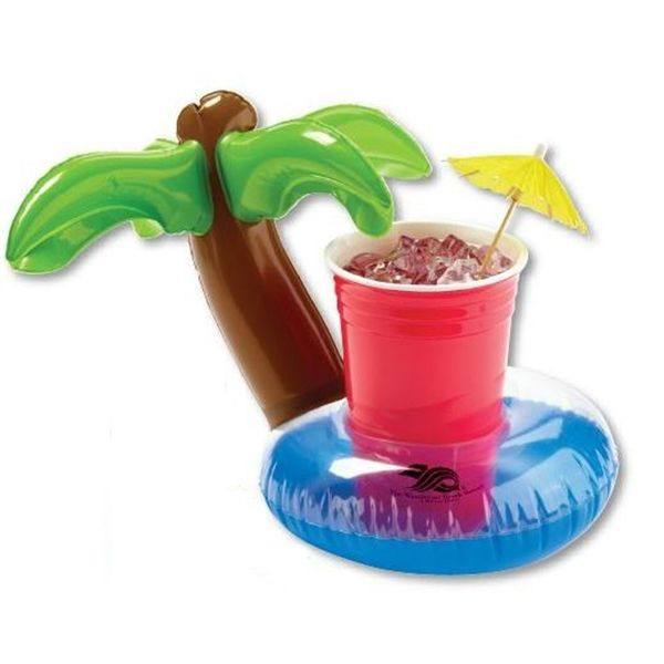 Main Product Image for Inflatable Palm Tree Lagoon Floating Coaster