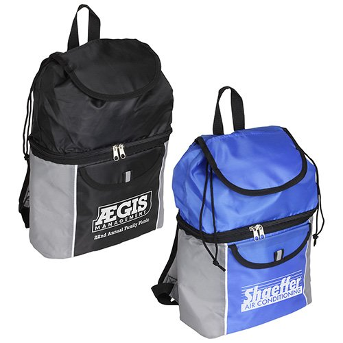 Main Product Image for Custom Imprinted Backpack Journey Cooler Backpack
