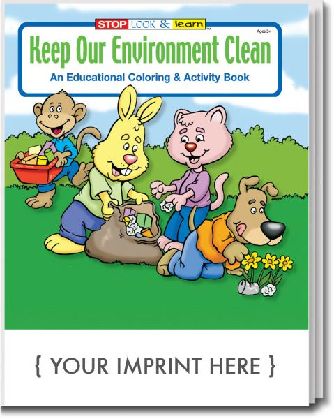 Main Product Image for Keep Our Environment Clean Coloring and Activity Book