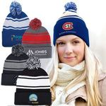 Buy Custom Beanie Knit w/ Pom Pom