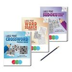 LARGE PRINT Puzzle Book Gift Pack - Volume 1 -