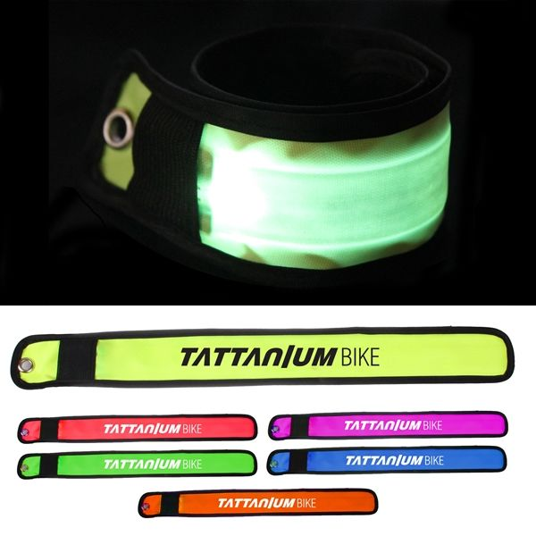 Main Product Image for Custom Imprinted LED Slap Bracelet