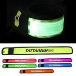 LED Slap Bracelet - Yellow