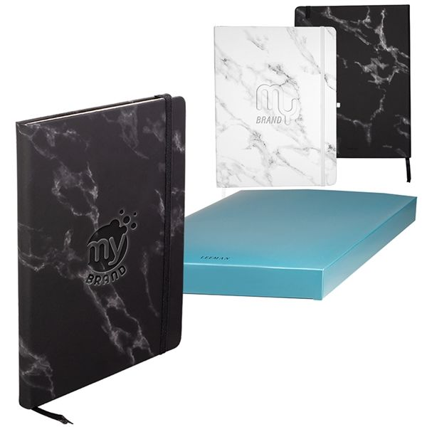 Main Product Image for LEEMAN (TM) Large Bound Softcover Marble Journal