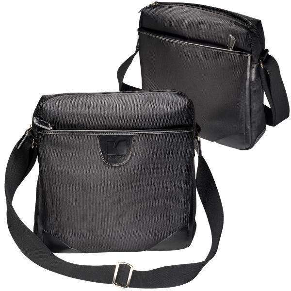 931f84ced6da Main Product Image for Custom Imprinted Messenger Bag Leeman New York  Eclipse