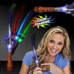 Buy Light Up Fiber Optic Star LED Glow Wand