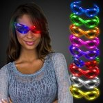 Buy Custom Sunglasses Light Up Glow Flashing LED