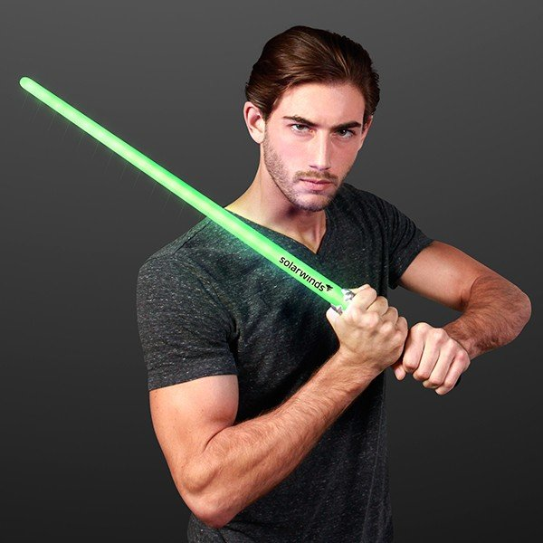 Main Product Image for Custom Saber Light Up Green