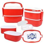 Buy Custom Imprinted Lunch Pod Multi Compartment Storage