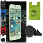 Buy Magnetic Auto Phone Holder with Phone Pocket