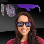 Mardi Gras Beads Purple Mardi Gras Sunglasses - Purple