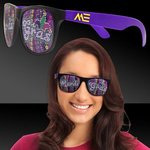 Buy Custom Sunglasses Mardi Gras Beads Purple Mardi Gras
