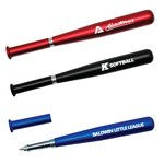 Buy Custom Imprinted Pen - Metallic Baseball Bat Pen