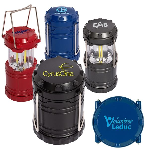 Main Product Image for Mini COB Camping Lantern-Style Flashlight