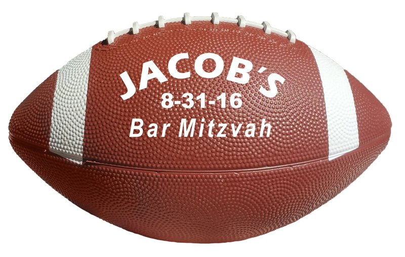 Main Product Image for Mini Rubber Football -10.5""