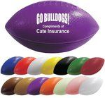 "Mini Throw Plastic Custom Footballs 6"" -"