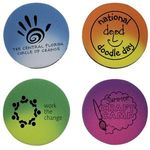 Buy Color Changing Die Cut Eraser-Circle