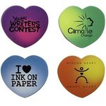 Buy Color Changing Die Cut Eraser-Heart