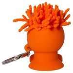 MopTopper (TM) Mobile Stand Cord Winder Key Chain - Orange