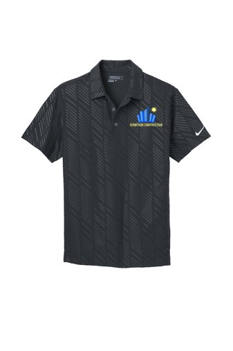 Nike Golf Dri Fit Embossed Polo Embroidered
