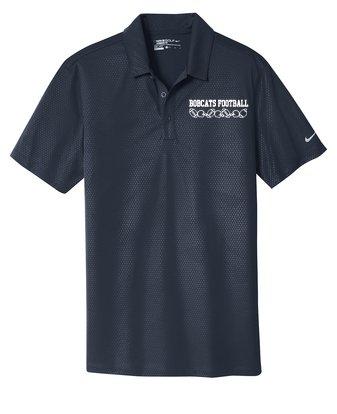 Custom Shirts Nike Golf Dri Fit Embossed Tri Blade Polo Embroidered