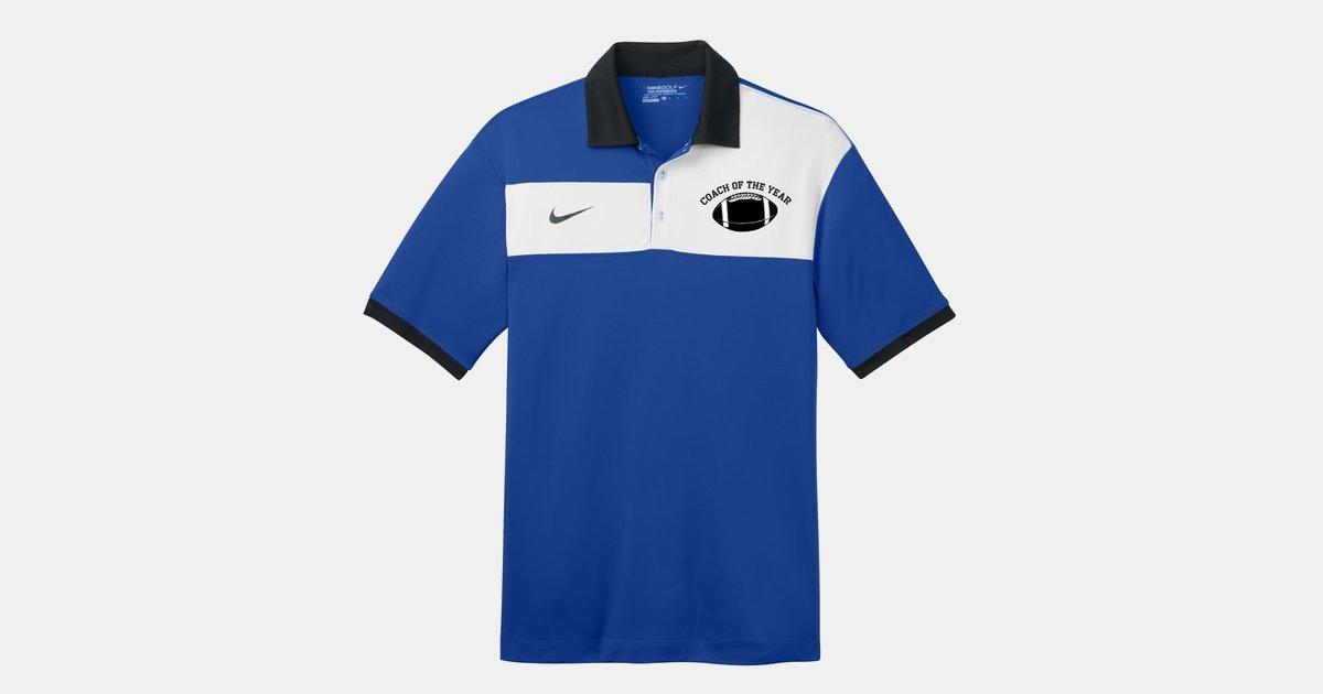 f1e11ab3 Custom Shirts Nike Golf Dri-FIT Sport Colorblock Polo-Embroidered |  ImprintLogo.com