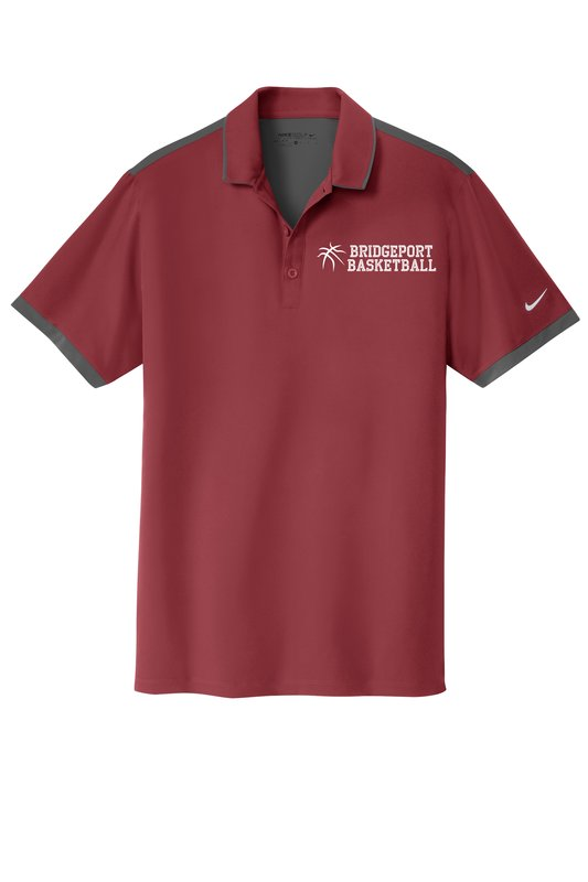 Custom Shirts Nike Golf Dri Fit Stretch Woven Polo Embroidered
